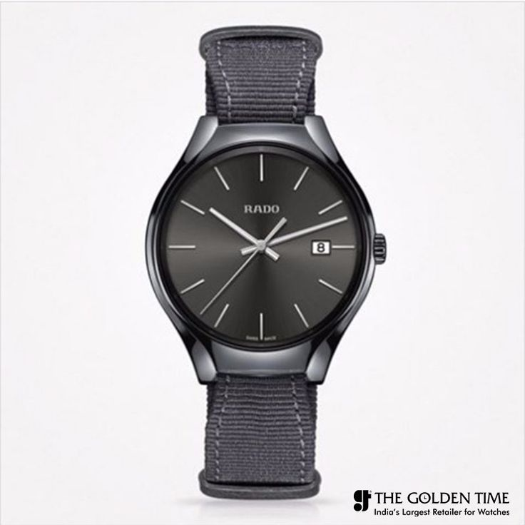 Rado sporty new True Colours Collection, even features a model in cool grey high-tech ceramic!! #thegoldentime #ahmedabad #vadodara #surat #Rado For more visit: www.thegoldentime.com Helpline number: +91 9687366522