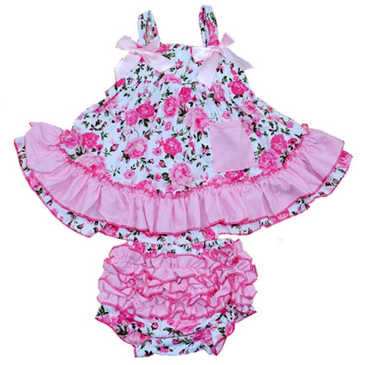 27.10$  Buy now - http://aliok8.shopchina.info/go.php?t=32391801444 - Children Dresses Fashion 2016 Baby Girl Clothing Set Summer Style 100% Cotton Body Baby Suits Newborn Girls Dress Clothes D-1 27.10$ #magazineonlinewebsite