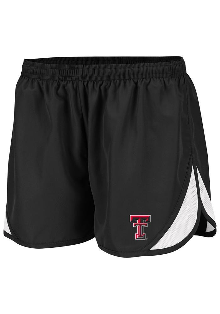 Texas Tech Red Raiders Womens Black Flip II Running Short    http://www.rallyhouse.com/shop/texas-tech-red-raiders-colosseum-texas-tech-red-raiders-womens-black-flip-ii-running-short-15032205    $24.00