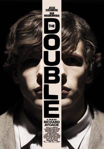 Richard Ayoade- The Double (2013) Official poster.
