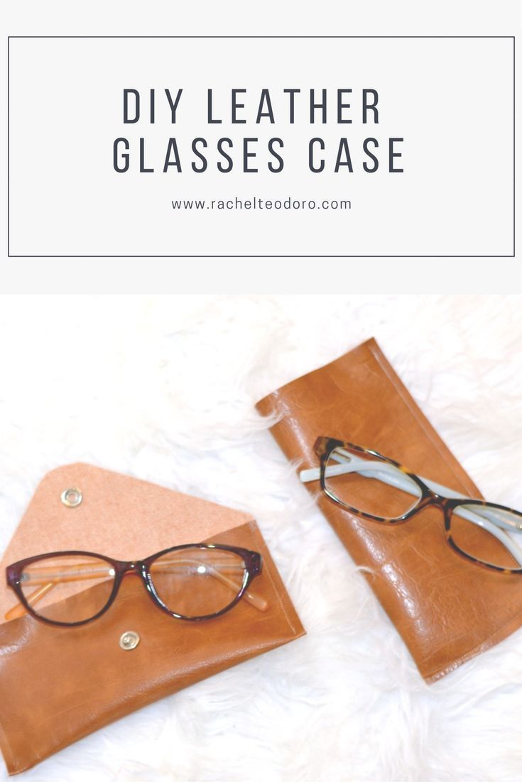 best 25+ diy leather glasses case ideas on pinterest | diy case