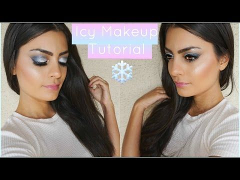 EYESHADOW TUTORIAL FOR BEGINNERS | Icy Silver Fall Tutorial - YouTube