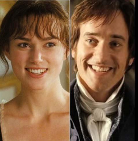 Keira Knightley (Elizabeth Bennet) & Matthew Macfadyen (Mr. Darcy) - Pride & Prejudice (2005) # ...