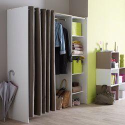 les 20 meilleures id es de la cat gorie tringle penderie sur pinterest meuble penderie. Black Bedroom Furniture Sets. Home Design Ideas