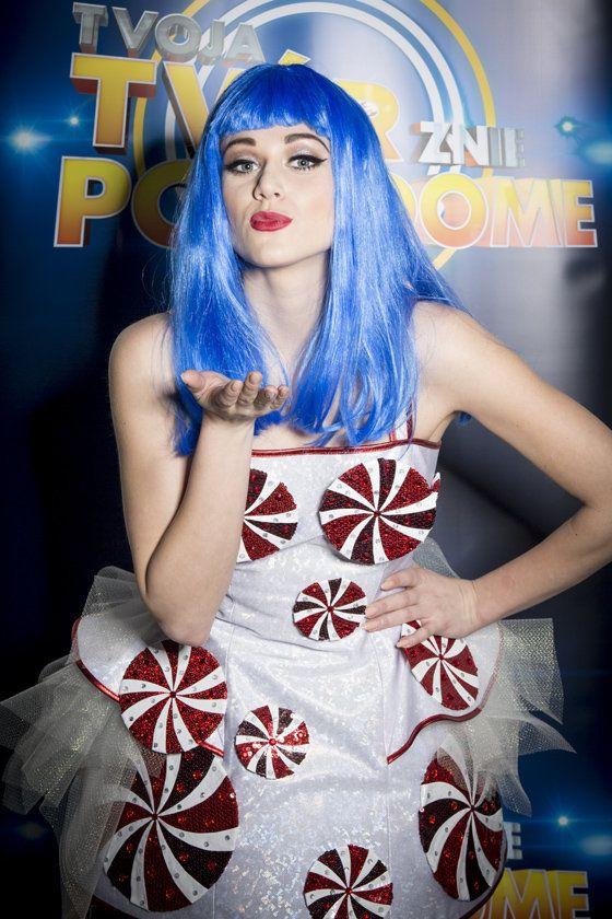 Emma Drobná ako Katy Perry...mj