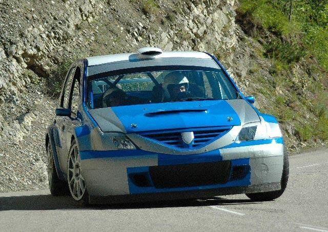 Dacia Logan Rally Car