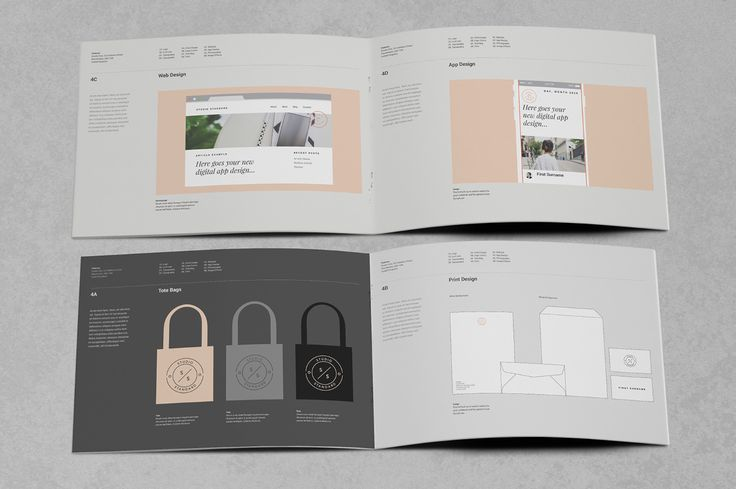 Palermo Brand Manual by Studio Standard on @creativemarket