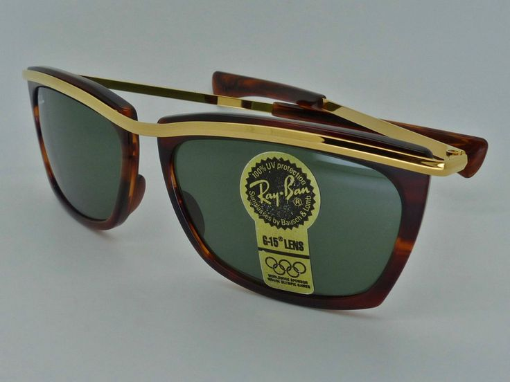 Vintage B&L Ray Ban L1005 Tortoise Olympian II G15 Sunglasses by VSOx on Etsy