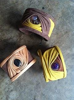 leather/suede bracelets