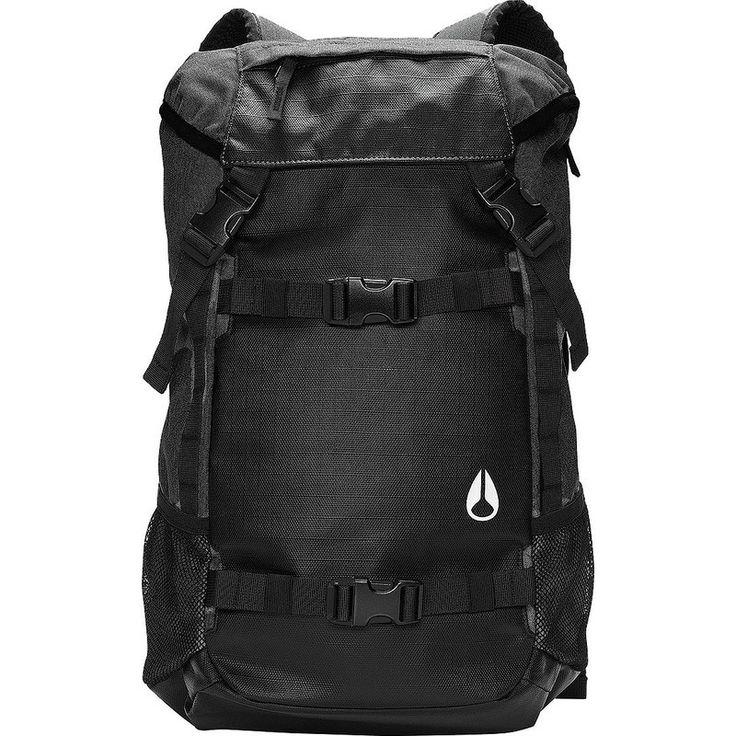 Nixon Landlock Backpack II | Black