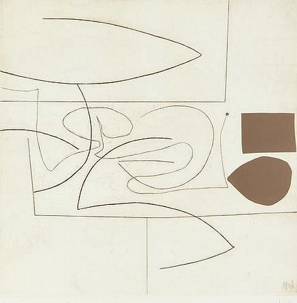Victor Pasmore, Linear motif in three movements (1974)