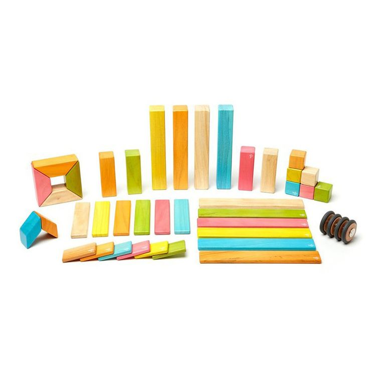 Tegu Magnetic Wooden Blocks-42 pieces