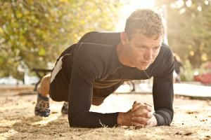 How to Properly Perform The Plank Exercise to Improve Core Strength: The plank exercise.