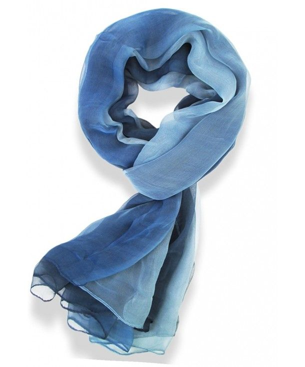 Womens Multi Radient Colors 100 Pure Silk Scarf Blue Ce11xecnna1 Pure Silk Scarf Pure Products Womens Wrap Scarf