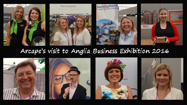 Here are some of the happy exhibitors that we met at the Anglia Business Exhibition 2016: Polkadot Frog, Newmarket Races, Hemisphere Freight, Box-it East, Century Offices, Daniel from Banbury Howard, Victoria from Avanti Networking and Lydia from Nigel French and associates.  Read more about our adventures in our blog.