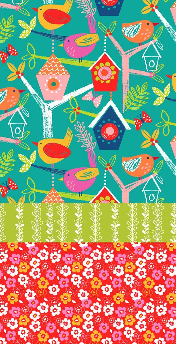 wendy kendall designs – freelance surface pattern designer » secret garden