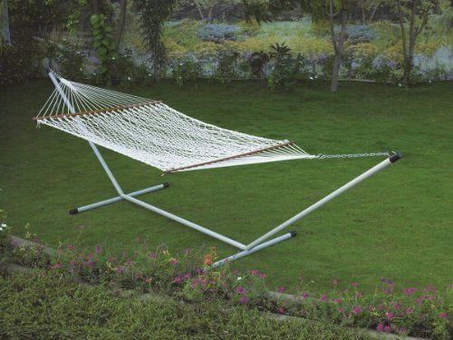 48''W X 11'FT POLYESTER ROPE HAMMOCK -IN INDIVIDUAL BOX Hangit http://www.amazon.in/dp/B00M2OSMRA/ref=cm_sw_r_pi_dp_FWDtub0Q0VW43
