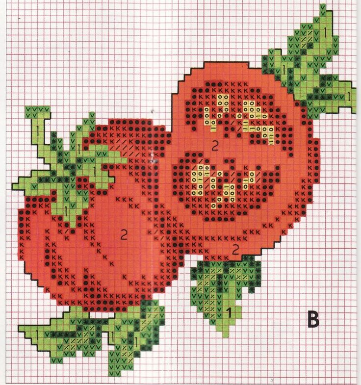 You say tomato, I say cross stitch