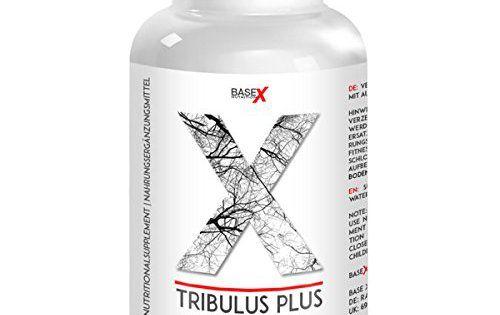baseXnutrition, TRIBULUS PLUS, MACA, L-Arginine, Zinc, précieux pour le métabolisme des ingrédients, 180 capsules: Tribulus Terrestris - Le…