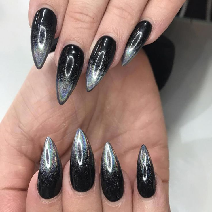 HAND CARE IS THE NEW FACIAL! | Stiletto nails, Holographic ...