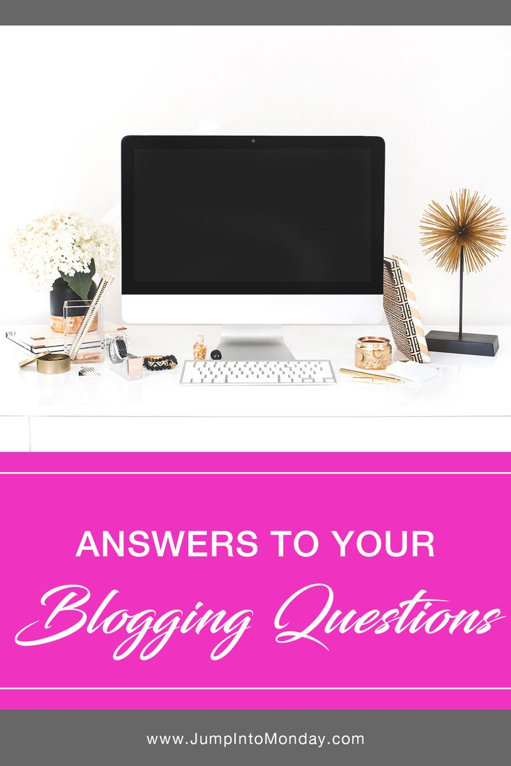 Answers To Your Blogging Questions. Excellent tips!