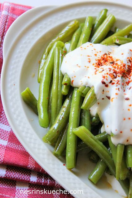 Börülce Salatasi / Salat mit Prinzessbohnen und joghurt