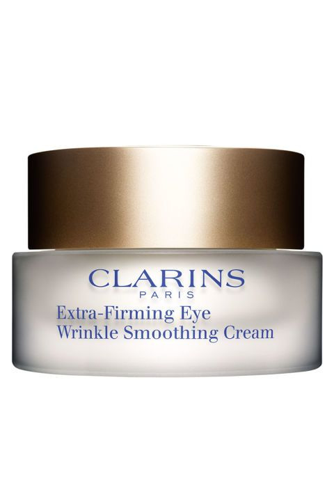 Clarins Extra-Firming Eye Wrinkle Smoothing Cream, $61, clarinsusa.com.
