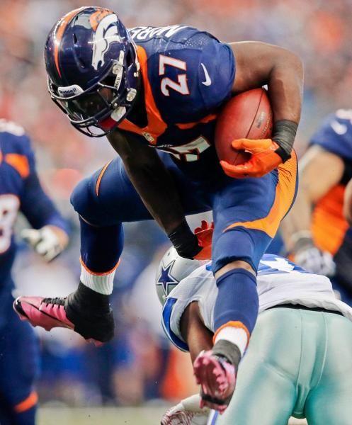 Denver Broncos running back Knowshon Moreno