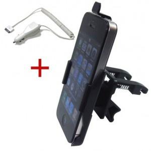 iPhone 4 Auto Bundle (Autohalterung Lüftung und Autoladegerät) bei www.StyleMyPhone.de