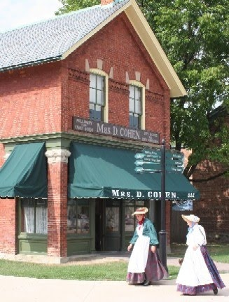 Greenfield Village, Dearborn, MI. Another fun field trip destination.