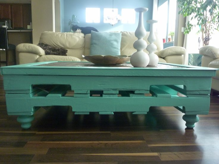 Best Pallet Coffee Table Images On Pinterest Pallet Coffee