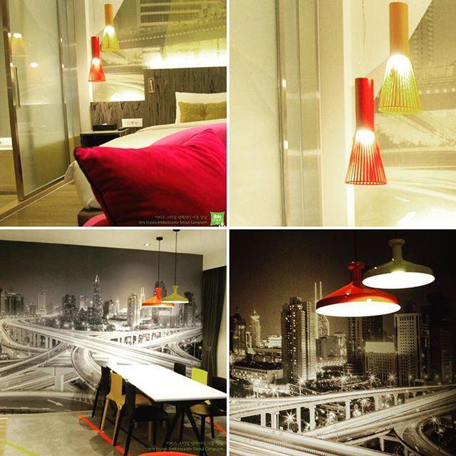 ibis Styles Ambassador Seoul Gangnam, Korea / Superior Suite 이비스 스타일 앰배서더 서울 강남 in 한국 / 슈페리어 스위트 룸의 산뜻한 Urban 느낌의 객실 인테리어 #Scandinavia_design