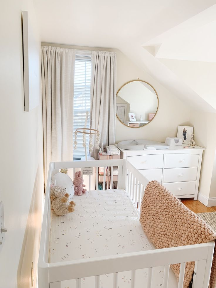 Babymädchen Kinderzimmer enthüllen   – Kids (bed)rooms