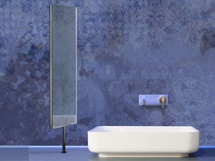 Miroir double face pivotant pour salle de bain alterego by for Miroir pivotant