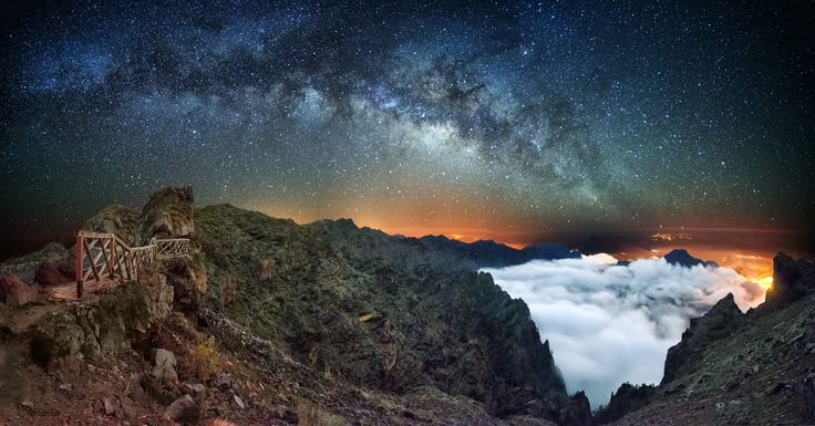 Photograph Milky en Taburiente by Juan Antonio Santana on 500px