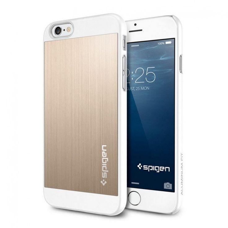 Spigen iPhone 6 Aluminium Fit Case gold