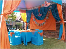 Plastic Table Cloths As Curtains For A Party! Great For Photo Booth  Backdrop!