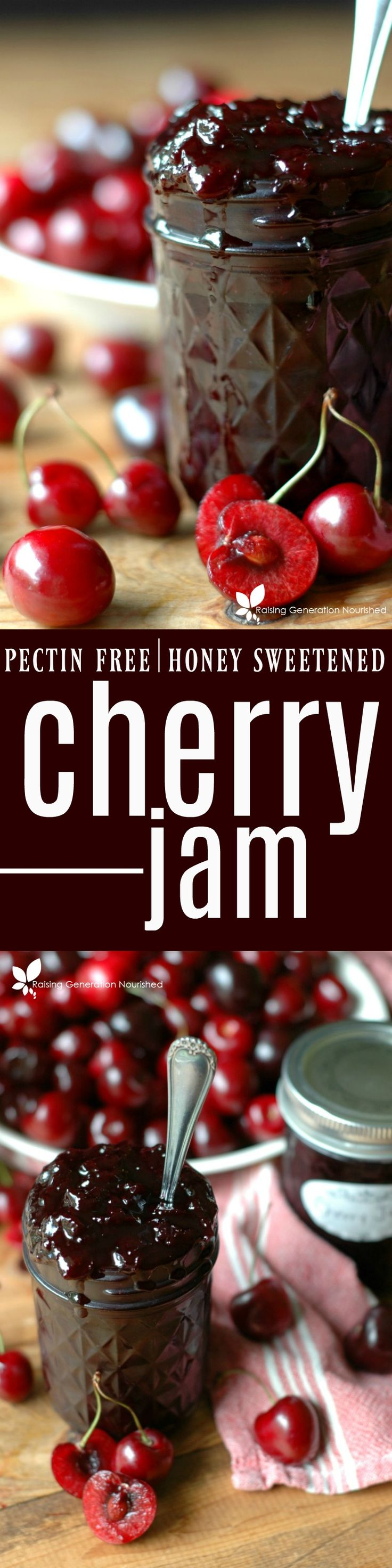 Preserve the best of cherry season with delicious cherry jam, perfect for all of your jam topping dreams!