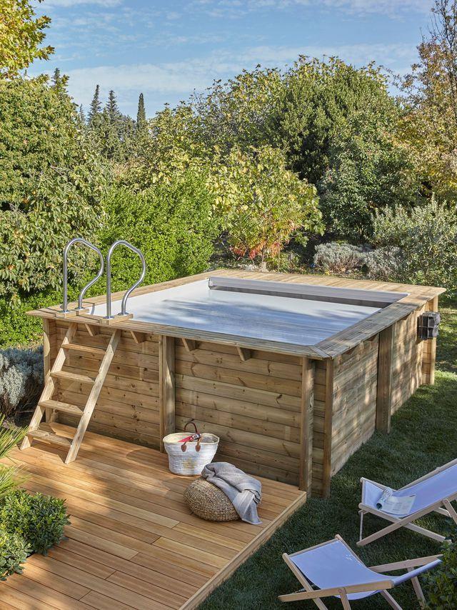 25 best ideas about piscine hors sol rectangulaire on pinterest piscine en bois rectangulaire. Black Bedroom Furniture Sets. Home Design Ideas