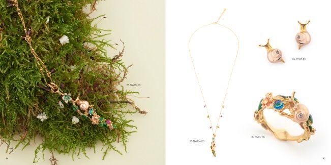 Work   Design   Bill Skinner Studio Jewellery Look Book Spring   Summer 2016