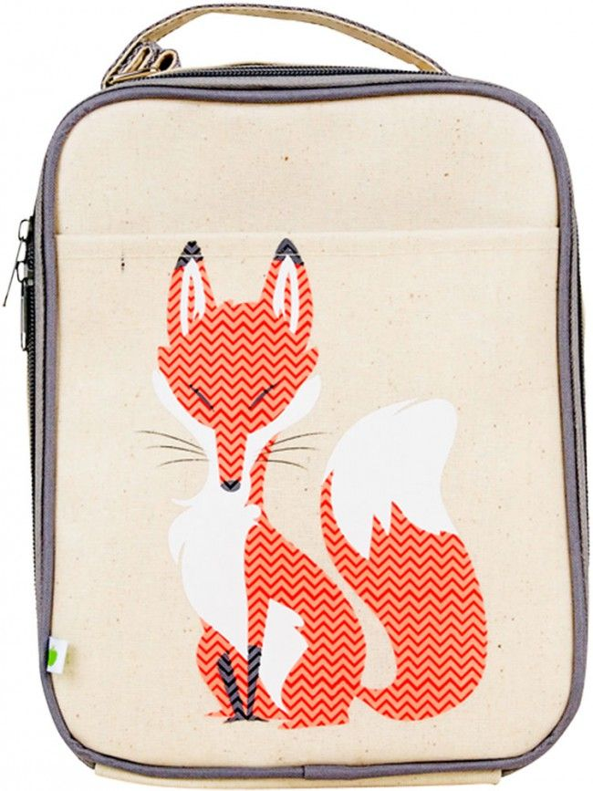 Apple and Mint Lunch Bag Fox. Buy Apple & Mint at summerlane.com.au