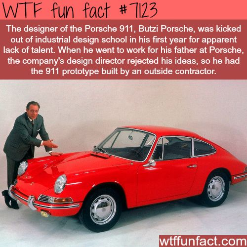porsche interesting facts