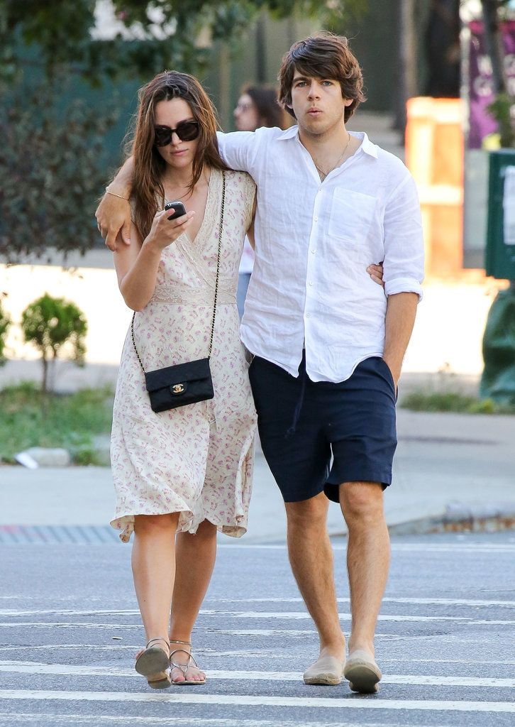Keira Knightley and James Righton Walking in NYC | POPSUGAR Celebrity