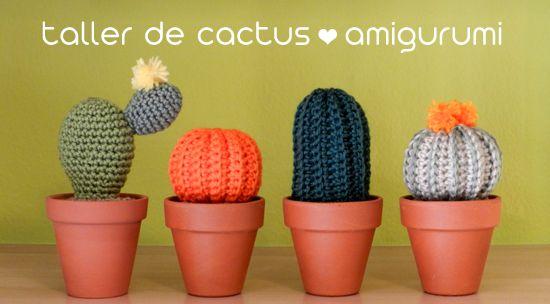 ¡Aprende a hacer estos cactus amigurumi!