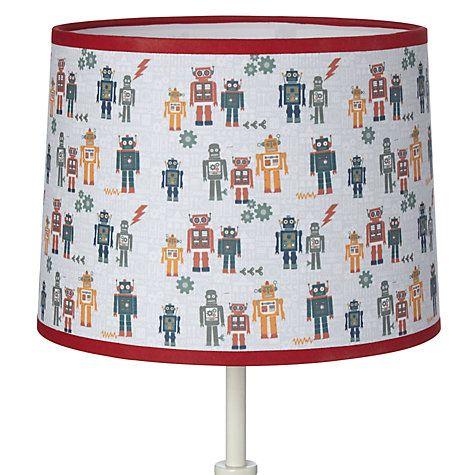 Buy Little Home At John Lewis Robots Lampshade Online At
