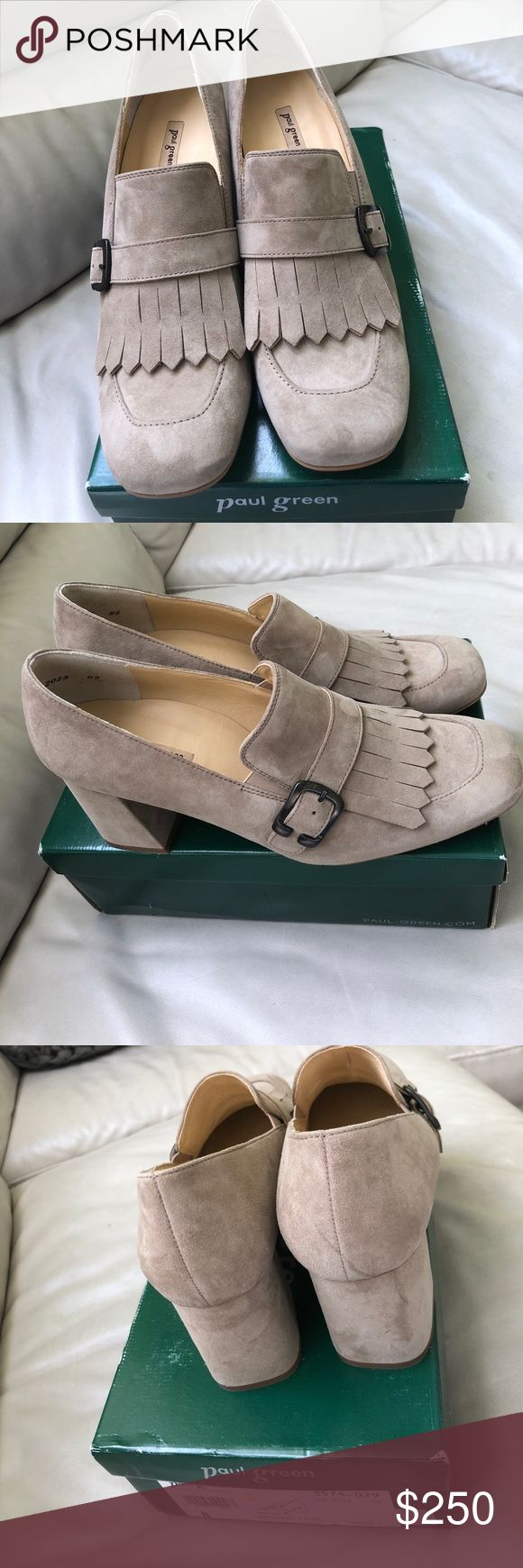 Paul Green shoes Size 11 NIB Paul Green shoes color taupe Paul Green Shoes Flats & Loafers