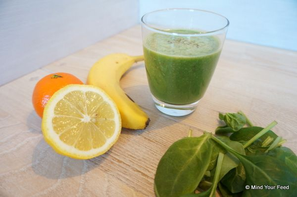 Weerstand smoothie, door de vitamine C een boost voor je gezondheid