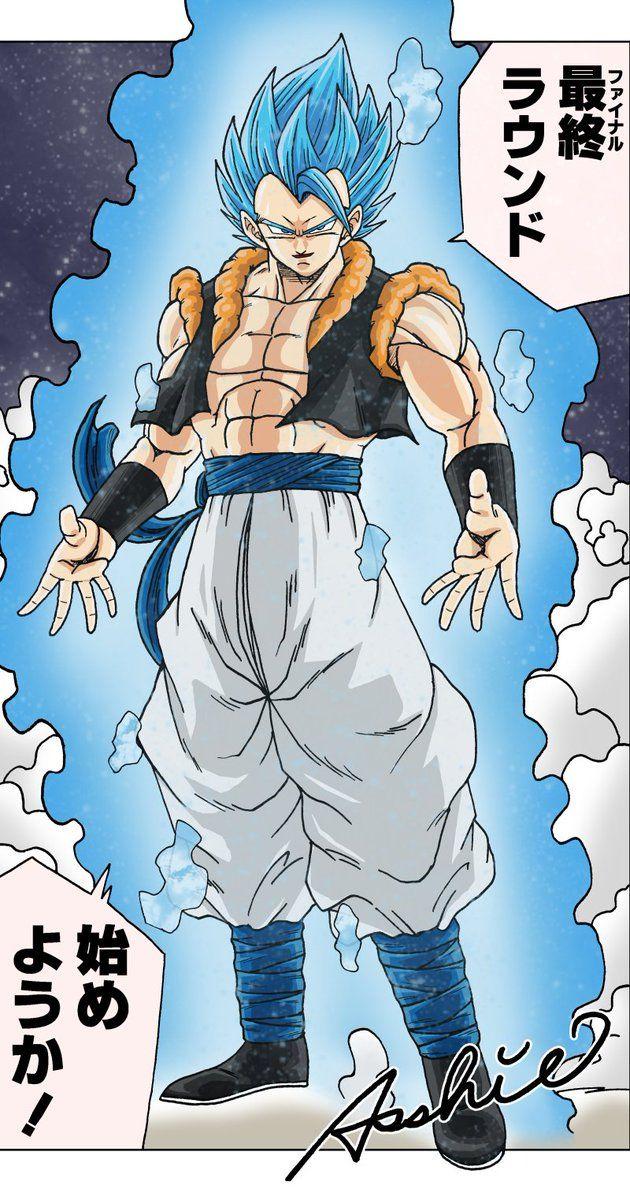 Gogeta Blue By Asshie Dragon Ball Art Dragon Ball Super