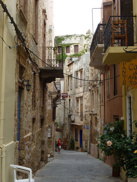 Chania back lanes