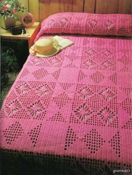 BEDSPREAD | Irish crochet &